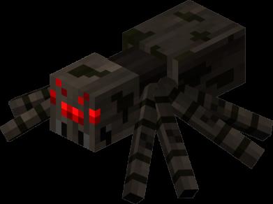 Принт Жіноча футболка Minecraft spider, Фото № 1 - FatLine