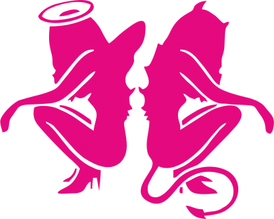 Принт СумкаАнгел и Демон - FatLine