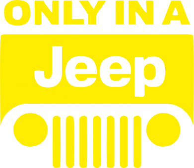Принт Only in a Jeep - FatLine