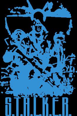 Принт Подушка Stalker Logo - FatLine