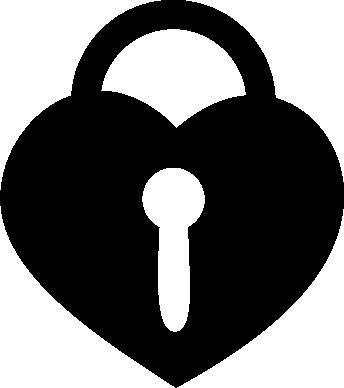 Принт Сумка Сердце со скважиной - FatLine
