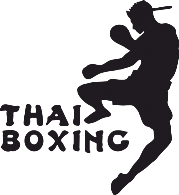 Принт Наклейка Thai Boxing - FatLine