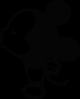 Принт Женская майка Поцелуй мышек (м) - FatLine
