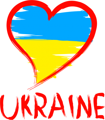 Принт Кружка 320ml Love Ukraine - FatLine