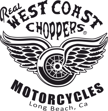 Принт Женская футболка с V-образным вырезом West Coast Choppers - FatLine