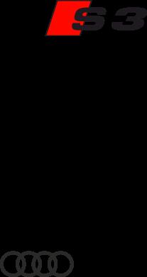 Принт Детская футболка Audi S3 - FatLine