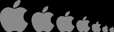 Принт Коврик для мыши Apple Evolution - FatLine
