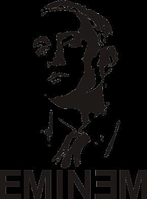 Принт Толстовка Eminem Logo - FatLine