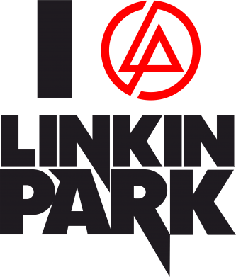 Принт Фартук I love Linkin Park - FatLine