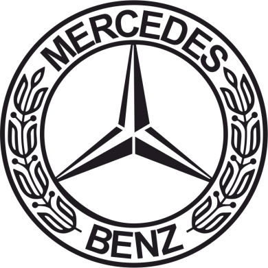 Принт Фартук Mercedes Logo - FatLine