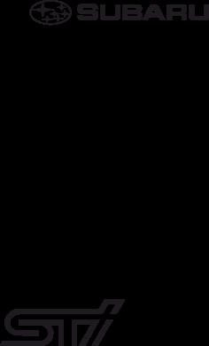 Принт Женская толстовка Subaru STI лого - FatLine