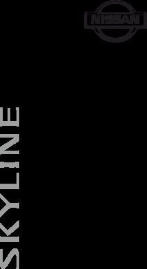 Принт Женская футболка Skyline Logo (Nissan) - FatLine