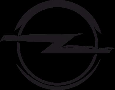 Принт Подушка Opel Log - FatLine