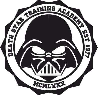 Принт Подушка Death Star Academy - FatLine