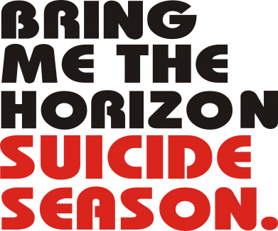 Принт Мужская майка Bring me the horizon suicide season. - FatLine