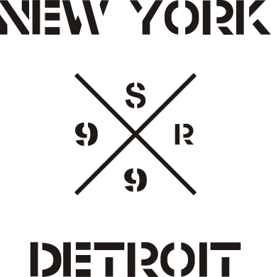 Принт Сумка New York Detroit - FatLine