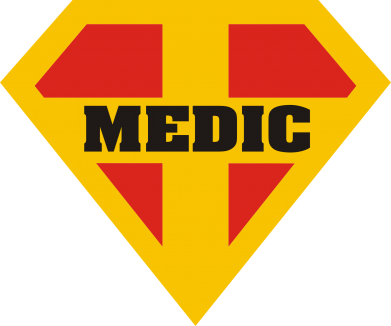 Принт Футболка Super Medic - FatLine