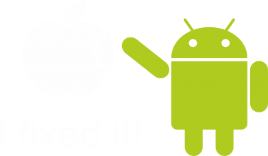 Принт Футболка Поло I fixed it! Android - FatLine