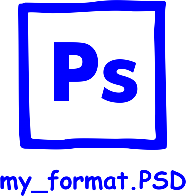 Принт Слюнявчик  Photoshop psd - FatLine