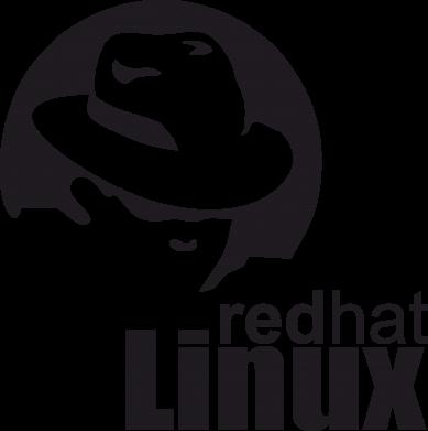 Принт Мужская футболка  с V-образным вырезом Redhat Linux - FatLine