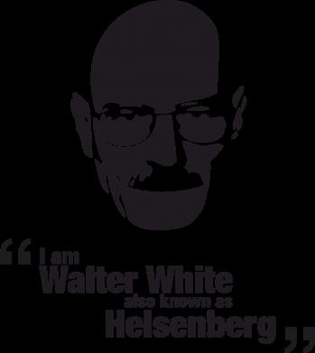 Принт Подушка i am walter white also known as heisenberg - FatLine