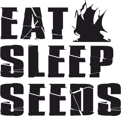 Принт Кружка 320ml Eat Sleep Seeds (pirat bay) - FatLine
