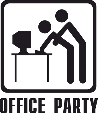 Принт Фартук Office Party - FatLine