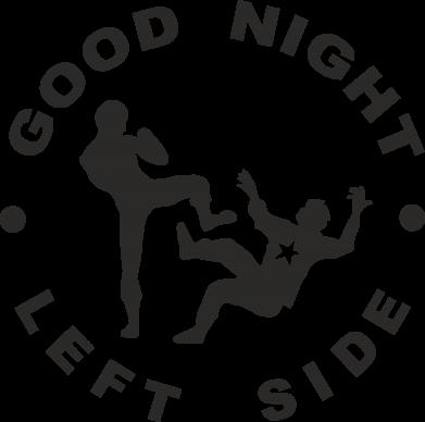 Принт Футболка Good Night - FatLine