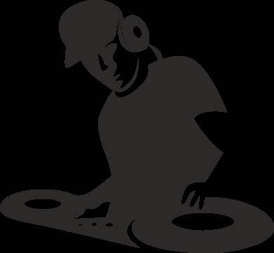 Принт Реглан (свитшот) Dj Logo - FatLine