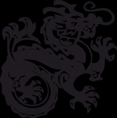 Принт Подушка Дракон - FatLine
