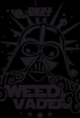 Принт Сумка Weed Vader - FatLine