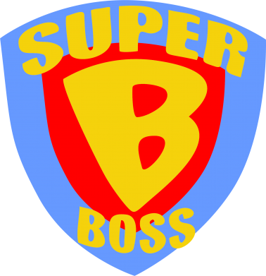 Принт Фартук Super Boss - FatLine