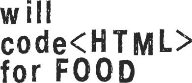 Принт Фартук Code HTML for food - FatLine