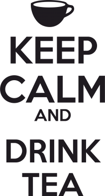 Принт Сумка KEEP CALM and drink tea - FatLine