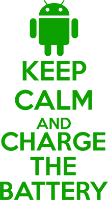 Принт Фартук KEEP CALM and CHARGE BATTERY - FatLine