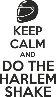 Принт Сумка KEEP CALM and DO THE HARLEM SHAKE - FatLine