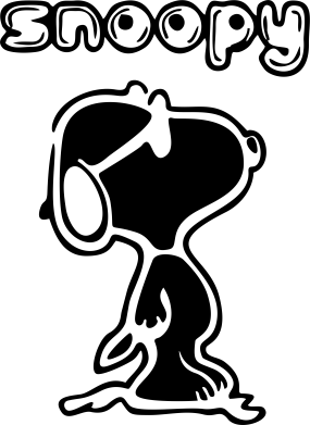 Принт Кружка 320ml Snoopy - FatLine