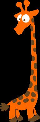 Принт Чоловіча толстовка Жираф, Фото № 1 - FatLine