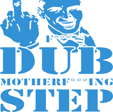 Принт Подушка Dub Step mother***ng - FatLine