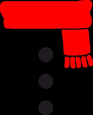 Принт Реглан (свитшот) Костюм снеговика - FatLine