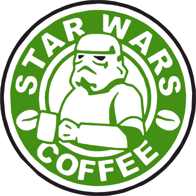 Принт Футболка Star Wars Coffee - FatLine