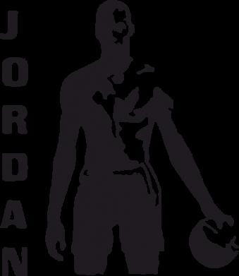 Принт Футболка Поло Jordan - FatLine