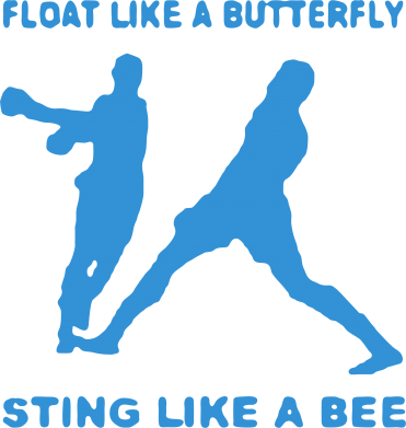 Принт Сумка Ali: Float Like A Butterfly - FatLine