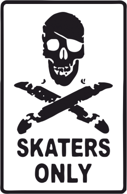 Принт Фартук Skaters Only - FatLine