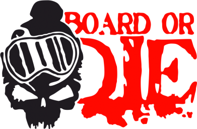 Принт Фартук Board or Die - FatLine