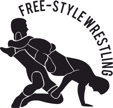 Принт Мужская толстовка Free-style wrestling, Фото № 1 - FatLine