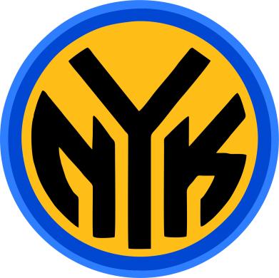 Принт Штаны New York Knicks logo - FatLine