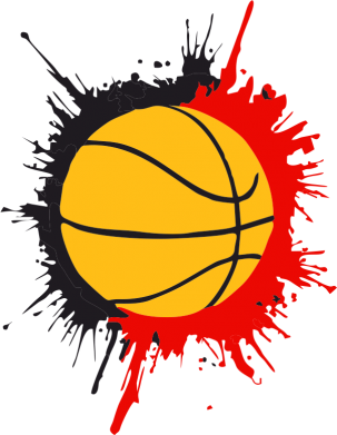 Принт Камуфляжная футболка Баскетбольный мяч - FatLine