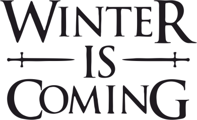 Принт Штаны Winter is coming - FatLine