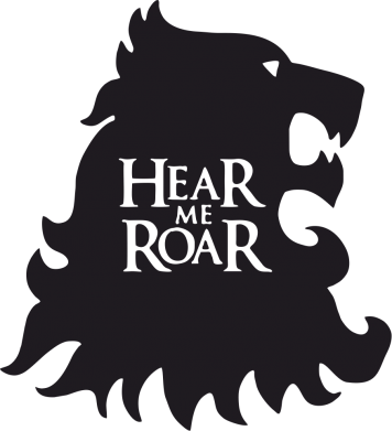 Принт Фартук Hear Me Roar - FatLine